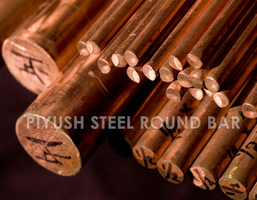 Copper Nickel 70/30 round bars manufacturer in india