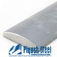 ASTM A276 Stainless Steel 347 Half Oval Bars