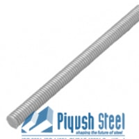 Titanium Grade 2 Threaded Bar
